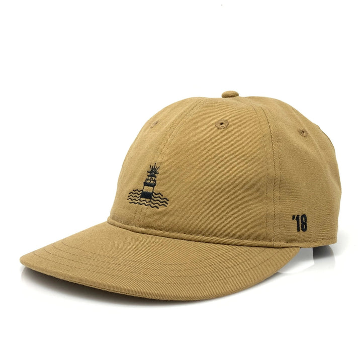 Lighthouse Baseball Hat (Latte)