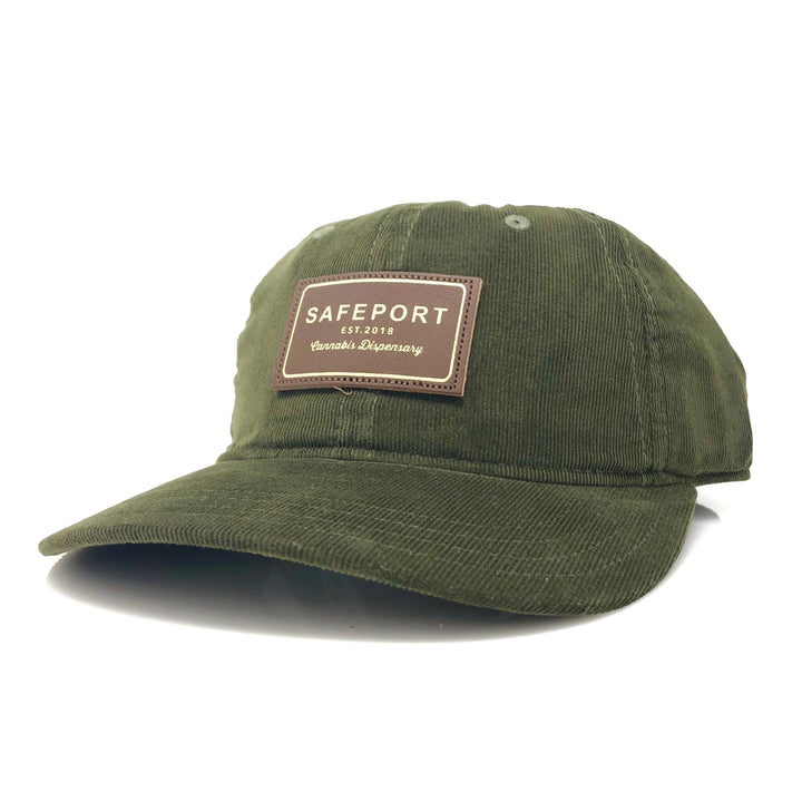 OG SafePort Corduroy 6 Panel (Olive)
