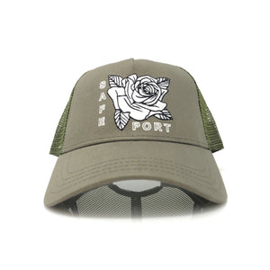 Smell the Roses Trucker (Surplus)