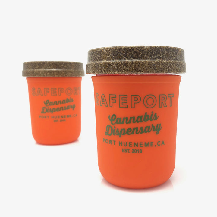 SafePort Stash Jar (Orange)