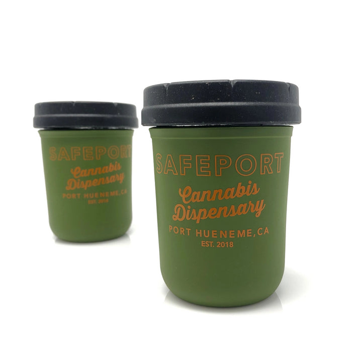 SafePort Stash Jar (Olive)