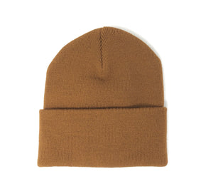 Safeport Embossed Lighthouse Beanie-Brown