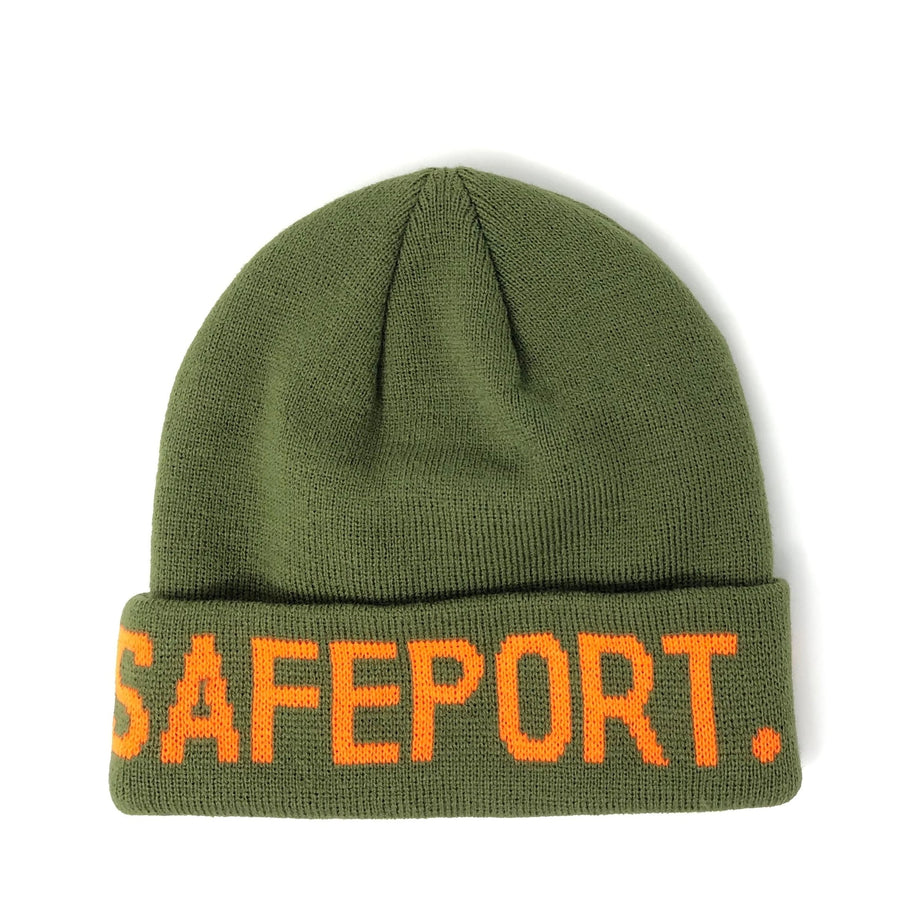 Safeport OG Beanie-Green