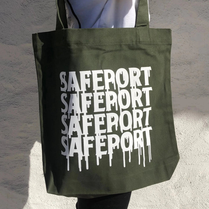 Safeport Drip Tote (GRN)