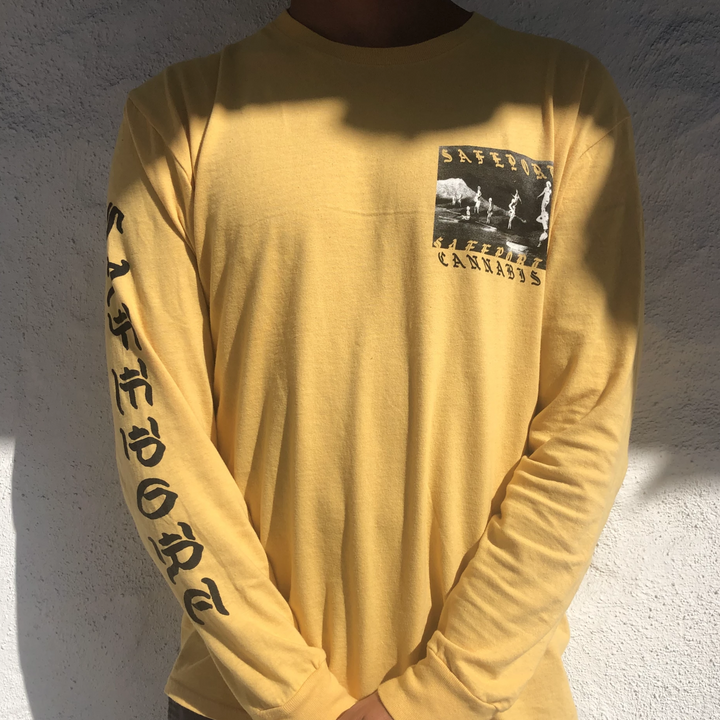 Goth WAVE L/S Tee