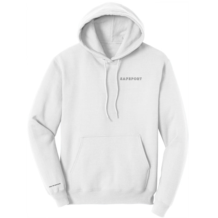 Safeport x Alien Labs Hoodie (White)