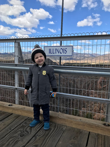 royal gorge bridge travel blogger Colorado chicago Windy City bebe fashion mom blog Colorado Springs