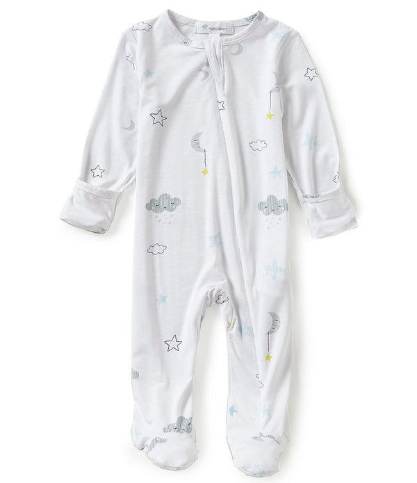 Angel Dear Starry Night Super Soft Zip Up Footie