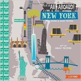 All Aboard!  New York A City Primer Board Book