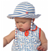 Zutano Breton Striped Sunhat- Blue