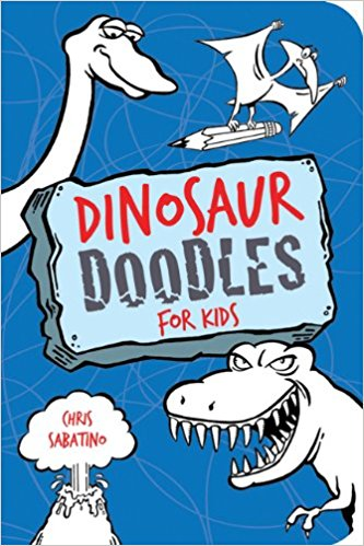 Dinosaur Doodles For Kids - A Pocket Sized Coloring Book