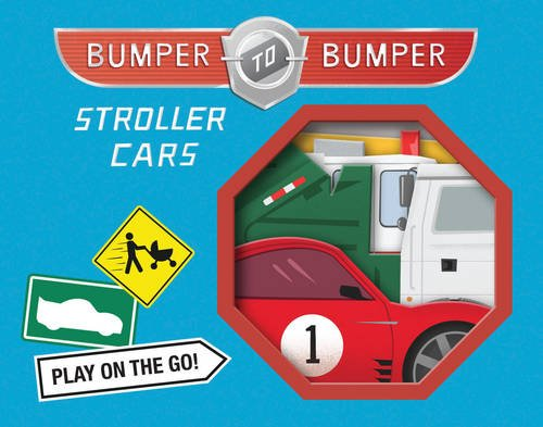 bumper to bumper stroller cars card toys stroller toys no throw infant toddler baby toys toy