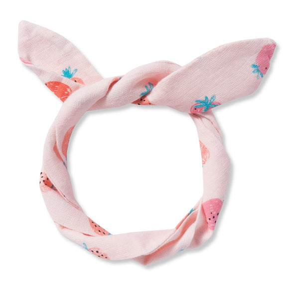 Angel Dear Strawberries Muslin Headband