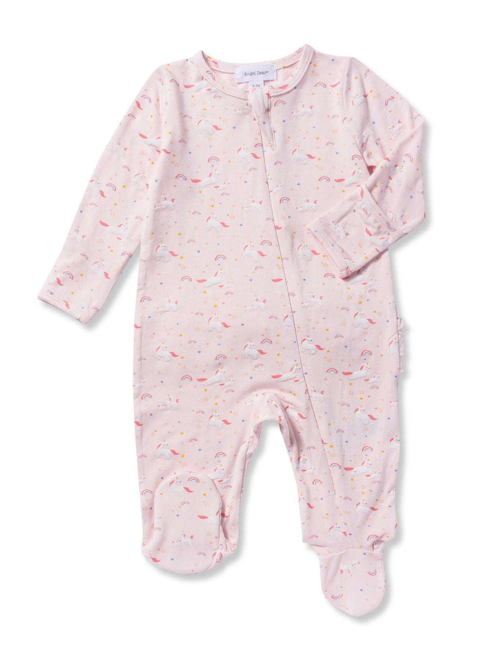 Angel Dear Unicorn Dreams Zipper Footie