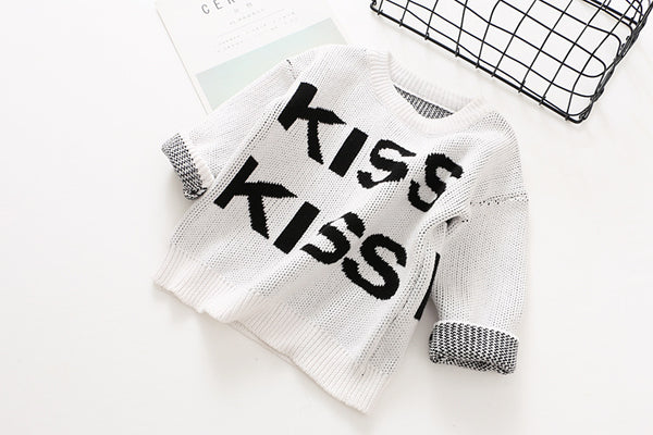 KISS KISS BANG BANG Knit Sweater