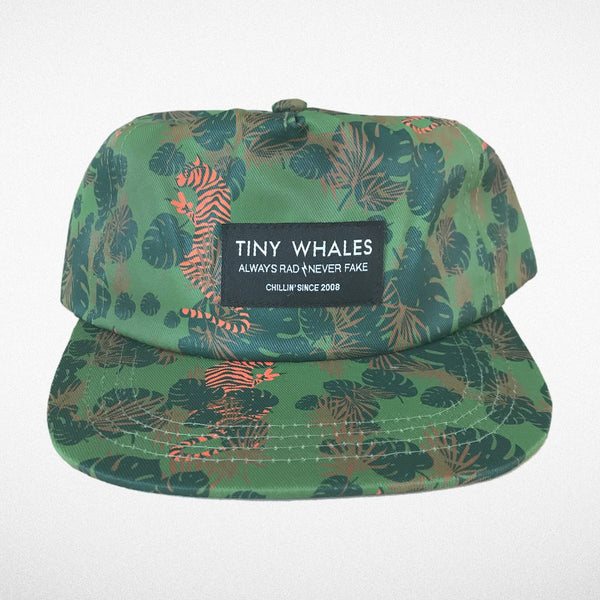 Tiny Whales EZ Tiger Limited Edition Snap Back Hat