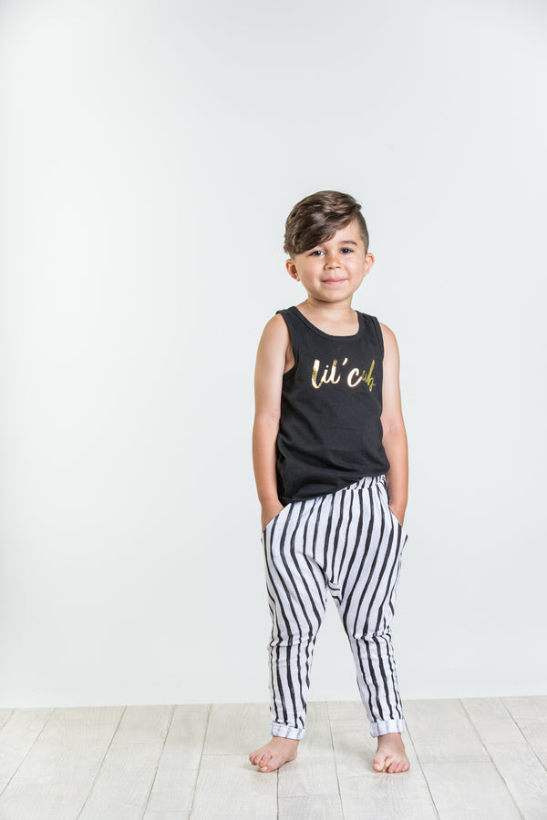 5T ONLY Joah Love Matt Lil Cub Printed Tank Kids