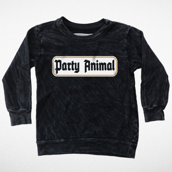 tiny whales party animal sweatshirt f/w2017 cool kids hipster kids fashion