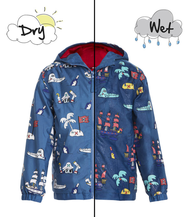 holly & beau color changing hyper color rain coats jackets kids infant toddler girls boys