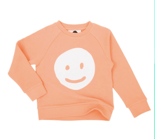 Koolabah Pearls Smiley Soft Organic Cotton Sweatshirt