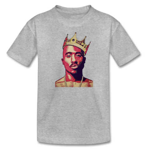 kids 2pac Tupac t-shirt tee infant toddler youth hip hop