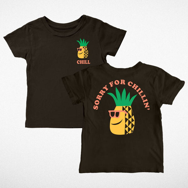 Tiny Whales lets be friends peace sign S/S 18 sprng summer tank top tee im not a tourist sorry for chillin pineapple i live here american made city chicago kid