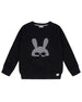 Turtledove London Organic Mask Applique Sweatshirt- Infant