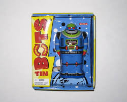 Schylling Tin Bot- Wind up Robot Toy