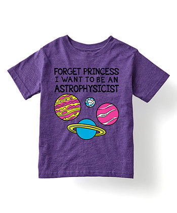 forget princess i want to be a scientist tshirt