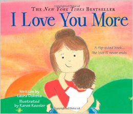 I Love You More Board Book