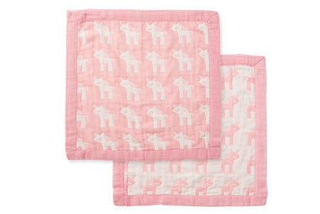 angel dear unicorn jacquard lovie lovey blankey comfort