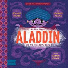 babylit aladdin arabian nights modern takes on classic baby kid child board book gift