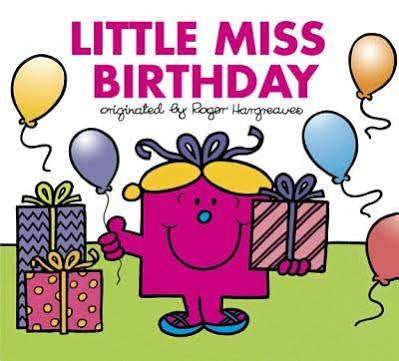 Mr. Men:  Little Miss Birthday