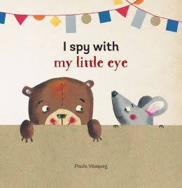 I Spy With My Little Eye - An Interactive Board Book