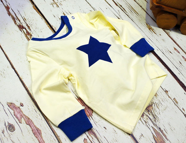 Blade & Rose Number Matching Star Top Blue
