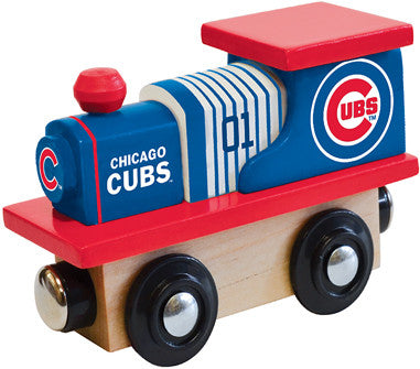 Chicago Cubs Wooden Train (Fits Most Wooden Track Sets)
