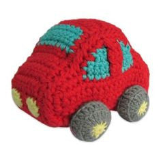 Little London Knit Car Rattle
