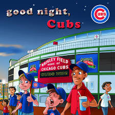 goodnight cubs board book chicago kids baby