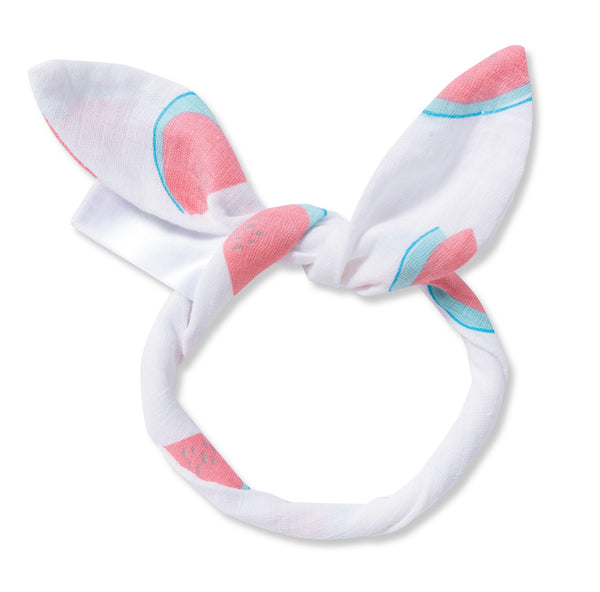 Angel Dear Watermelon Print Muslin Headband
