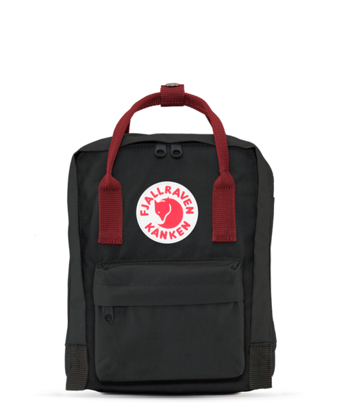 Fjallraven Kanken Mini Black Ox Blood