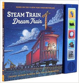 Steam Train Dream Train Sound Book