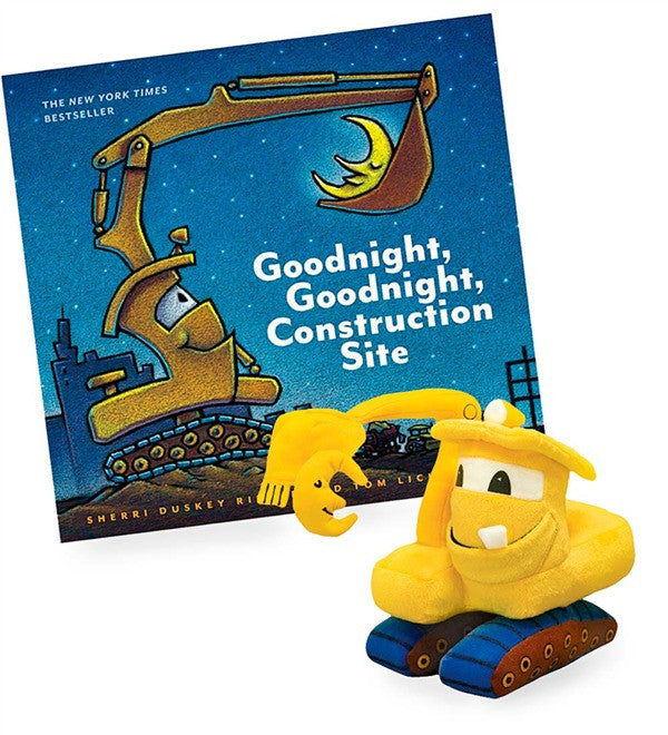 Goodnight Construction Site Plush Gift Set