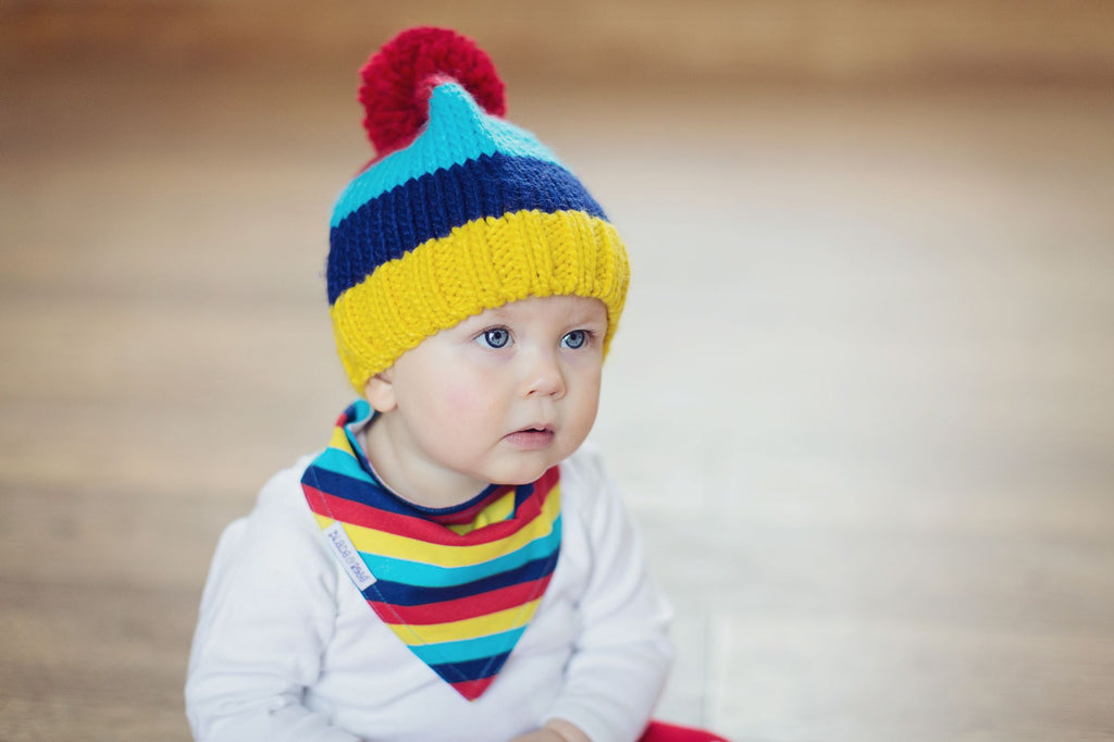 Blade & Rose Knit Bobble Hat 6-12M