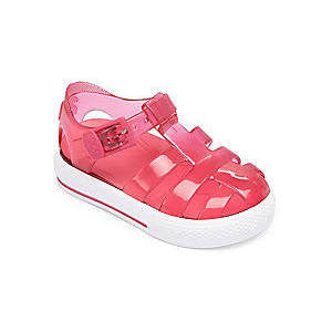 igor cienta jelly shoes jellies pink plastic shoes kids baby girls