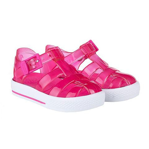 24c222f1f3ee ... igor cienta jelly shoes jellies pink plastic shoes kids baby girls  ...