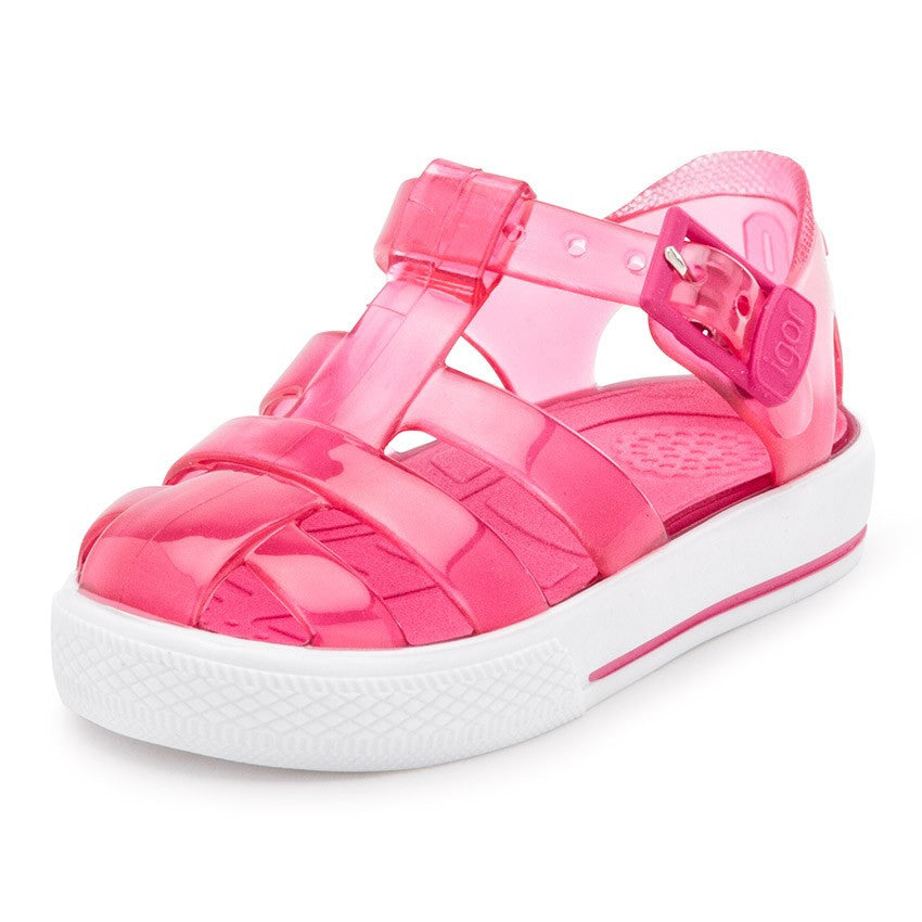 9e3bc19764f2 ... igor cienta jelly shoes jellies pink plastic shoes kids baby girls ...