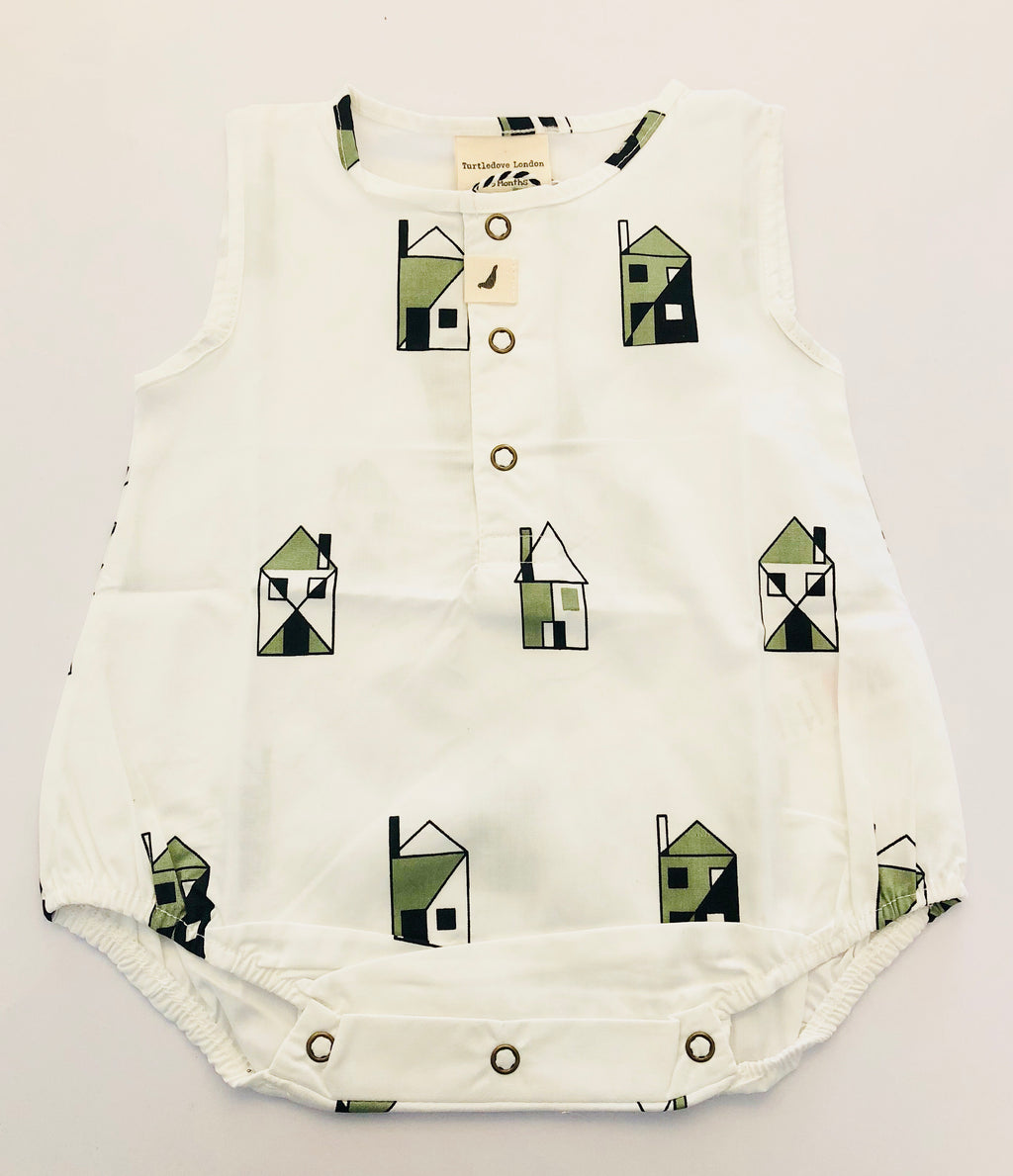 Turtledove London Our House Bubble Romper