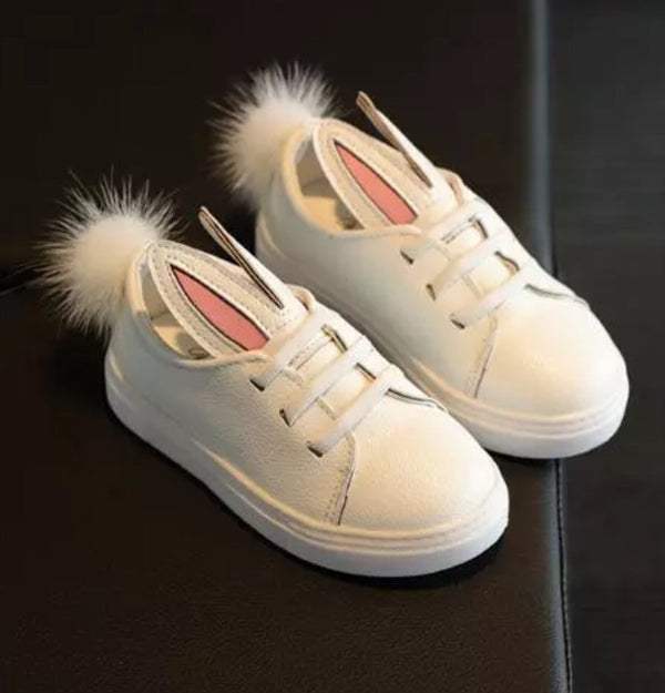 Cotton Tail Bunny Ear Slip On Shoes