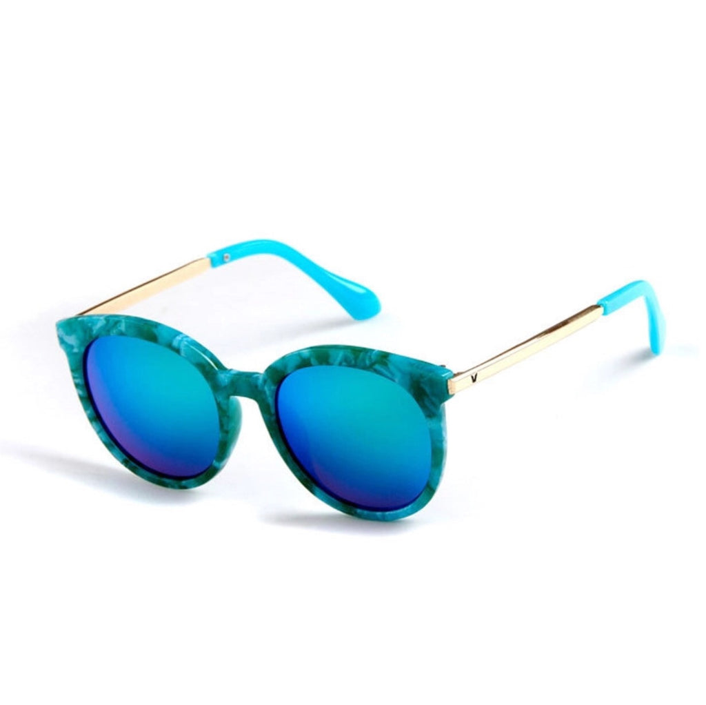 Sunny Shades Girls Sunglasses Turquoise