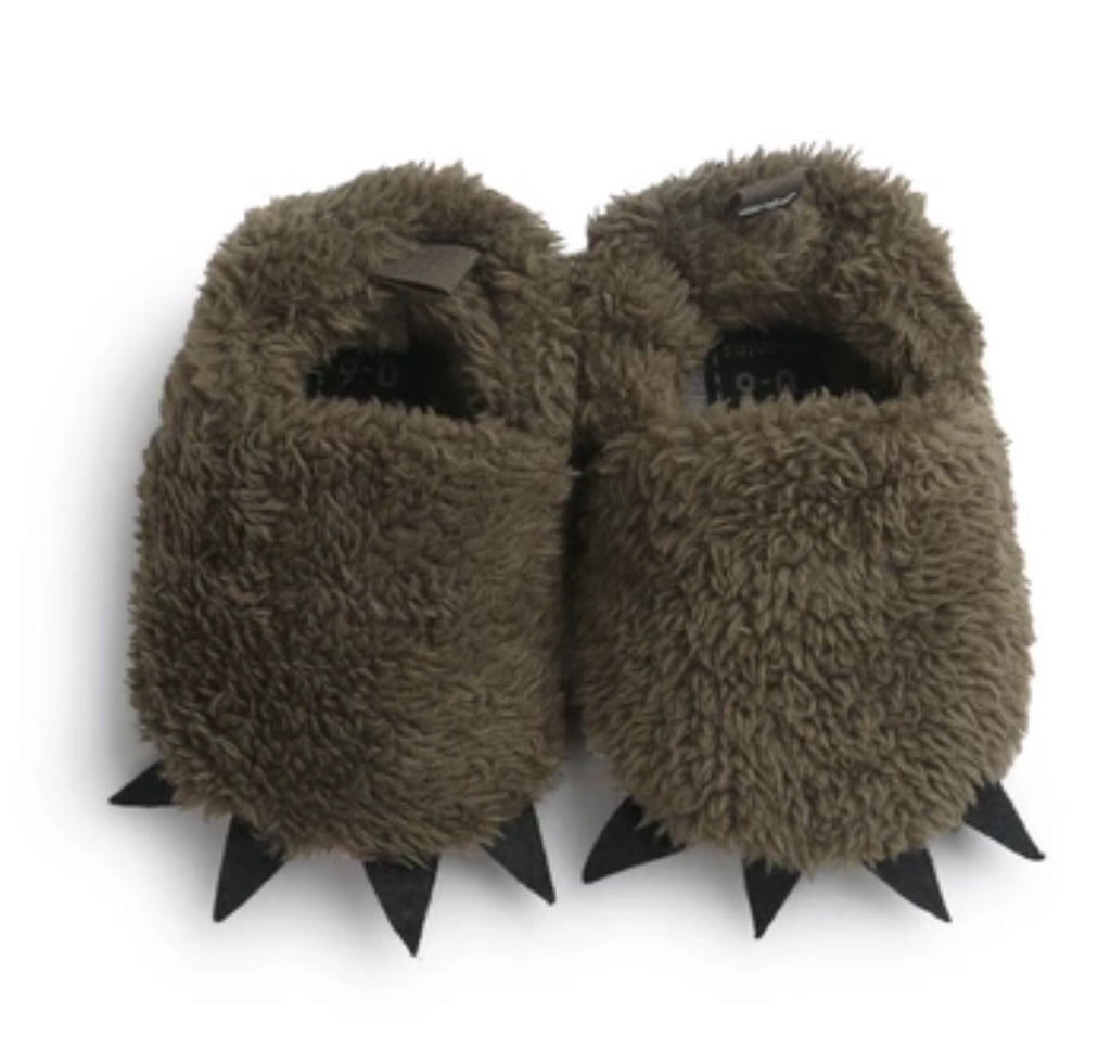 monster toes first walker slippers boys girls moccasins hipster style